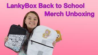 LankyBox Back to School Merch Unboxing