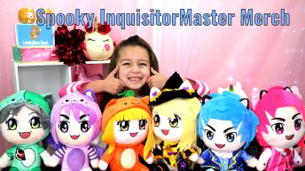 InquisitorMaster Spooky Collection Plushies