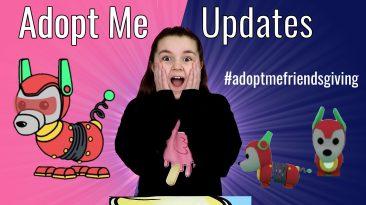 Adopt Me Thanksgiving Update #adoptmefriendsgiving