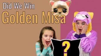 Golden Miss Misa Plush