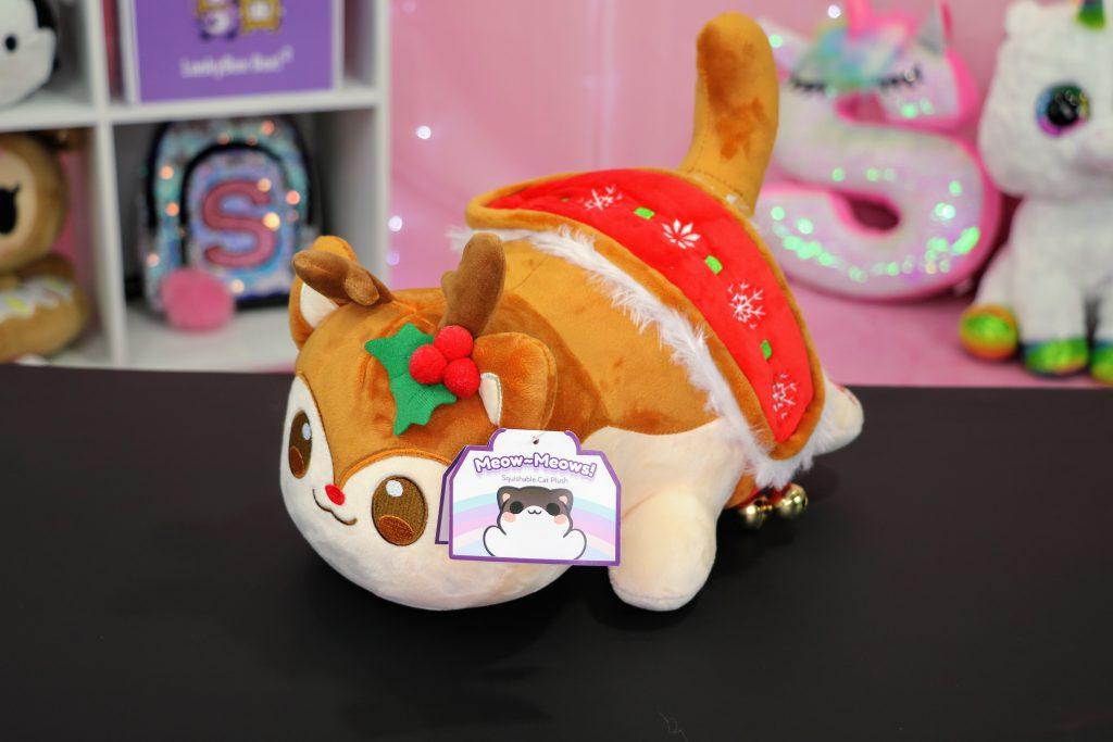 Aphmau Christmas Reindeer Cat plush