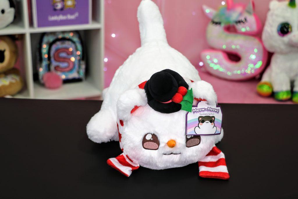 Aphmau Christmas Snowman Cat Plush