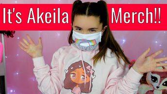 It's Akeila Merchandise Unboxing