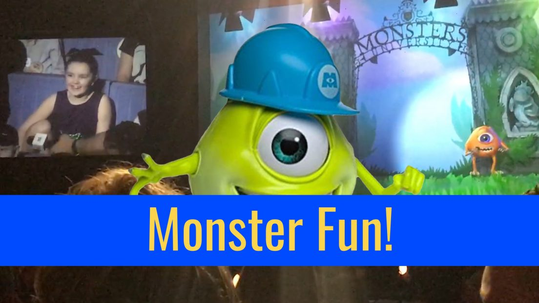 Monster's Inc. Laugh Floor Walt Disney World