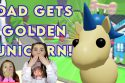 Golden Unicorn Adopt Me