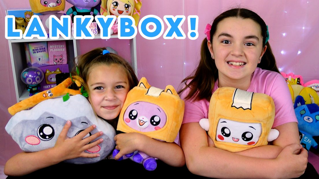 LankyBox Baby Plush Foxy, Boxy, Rocky, Sticky