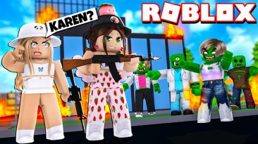 Roblox Zombie Rush - What if All Zombies were really Karens?