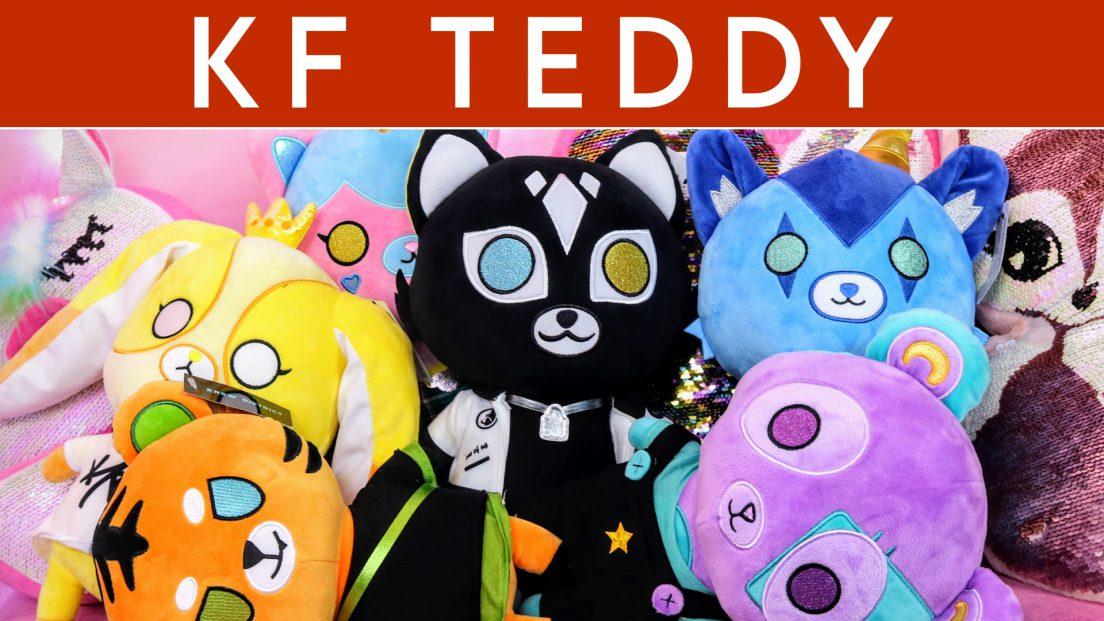 ItsFunneh KF Teddy Krew District Merchandise Plush